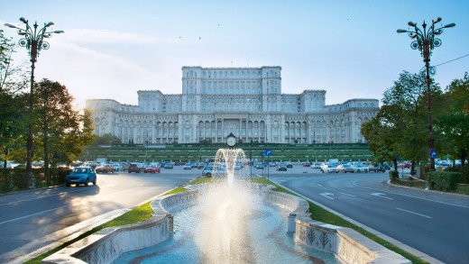 Nicolae Ceausescu demolished homes and ancient monasteries alike to accommodate his 365,000sqm Taj Mahal of terror.