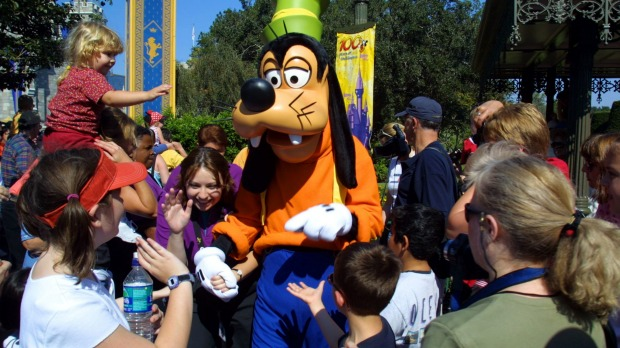 Disney theme park employees are easy targets for some trouble-making visitors.