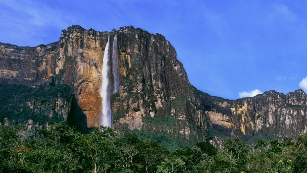 This waterfall in Venezuela is the world's highest.