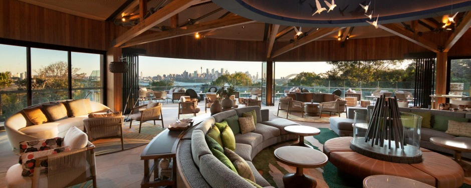 A stunning panaroma of Sydney from The Nest at the Wildlife Retreat at Taronga  Zoo.
