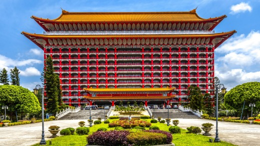 The Grand Hotel is a landmark located at Yuanshan in Zhongshan District, Taipei.