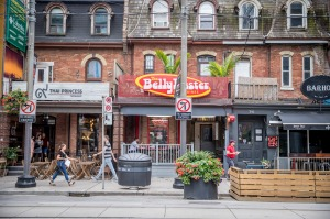 Restaurants in King West.