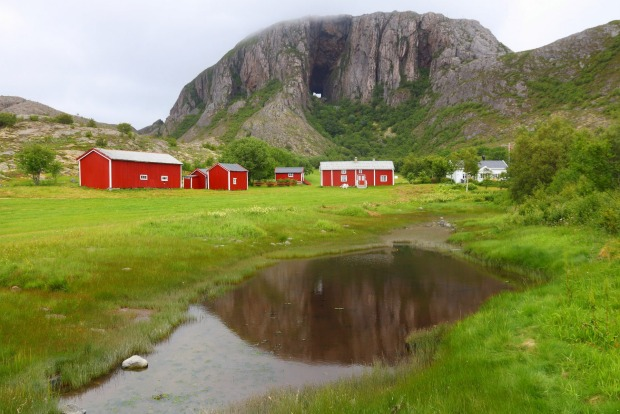 NORWAY'S TORGHATTEN  This shore excursion from the Helgeland coastal town of Bronnoysund allows us to hike one of ...