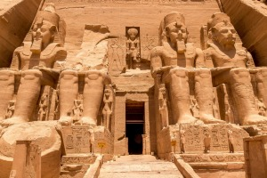 The sheer scale of the Great Temple of Abu Simbel is difficult to convey.