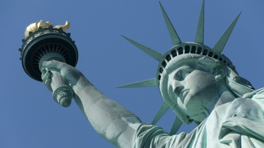 The Statue of Liberty was a gift of friendship from France.