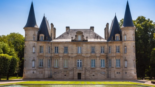 Chateau Pichon Longueville is one of the famous vine chateau in Bordeaux region in France.