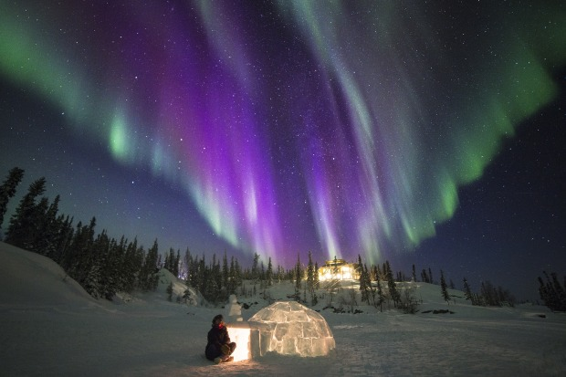 Blachford Lake Lodge, Yellowknife, Canada: The truth about seeing the  northern lights