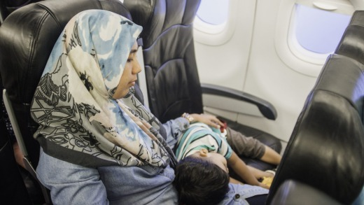 Some airlines have caused difficulties for female travellers wearing hijabs.