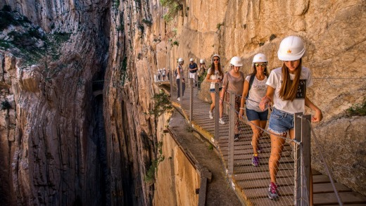 Don't miss the newly redeveloped Caminito del Rey in Spain.