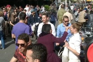 Expats at Yongkang Road, in the old French Concession area of Shanghai. When white immigrants gather together, you'll ...