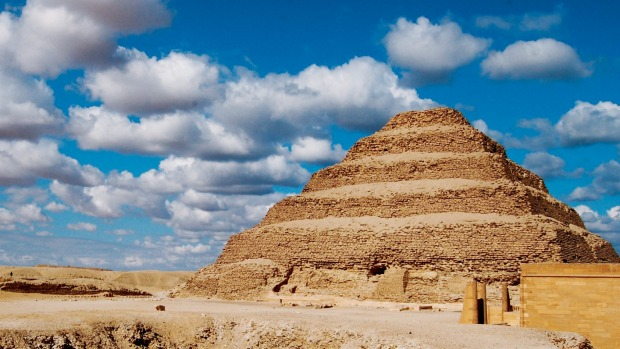 Sakkara, the Step Pyramid, Egypt.