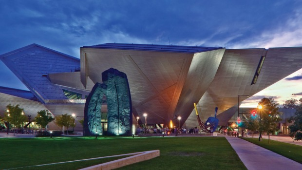 The Denver Art Museum.