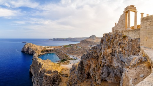 Acropolis of Lindos.