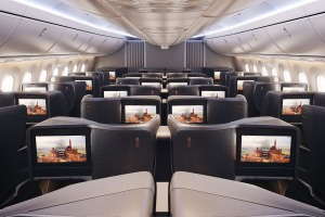 Turkish Airlines' new business class.