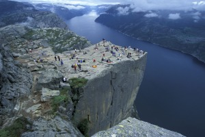 Pulpit Rock.