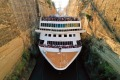 Bramar transit through the Corinth Canal Wed 9th Oct 2019 Supplied PR image for Traveller. A 22.5 metre-wide cruise ...