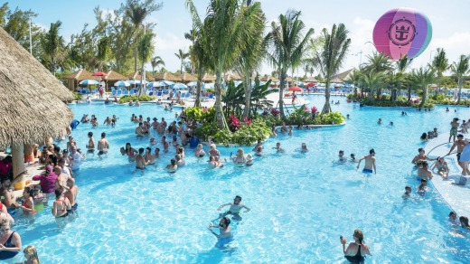 While the design for Perfect Day at Lelepa is still in progress, Royal Caribbean said it would have a different look and ...