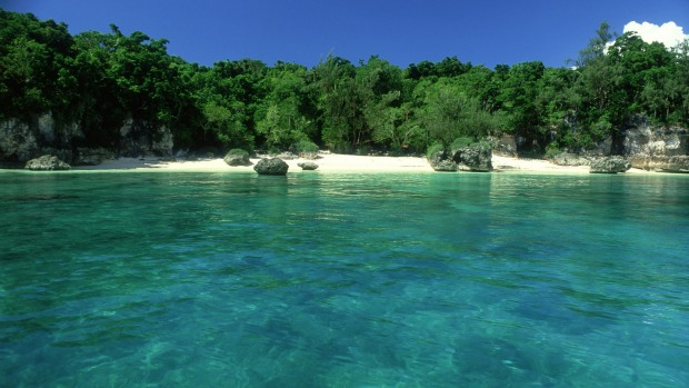 Lelepa Island, Vanuatu, spans about five kilometres north to south and has a population of approximately 500.
