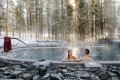 There's4600-square-metre open-air Nordic Spa with five plunge pools of varying temperatures.