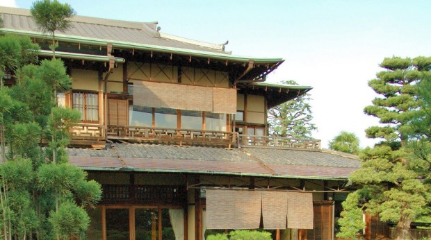 The main house at Yoshida-Sanso Ryokan.