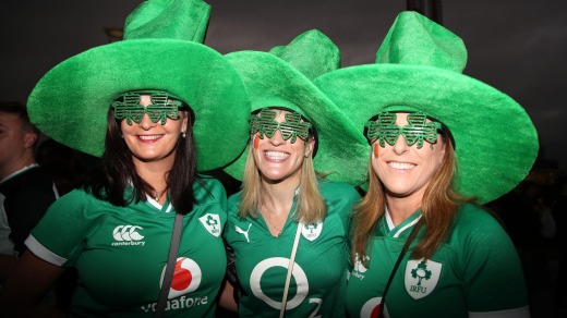 The number of Irish visitors to Japan surged by 446.4 per cent during the 2019 Rugby World Cup.