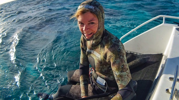 Wendy Morris, campaigner for the Great Barrier Reef.