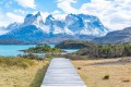 The stunning Torres del Paine National Park in Patagonia, Chile.