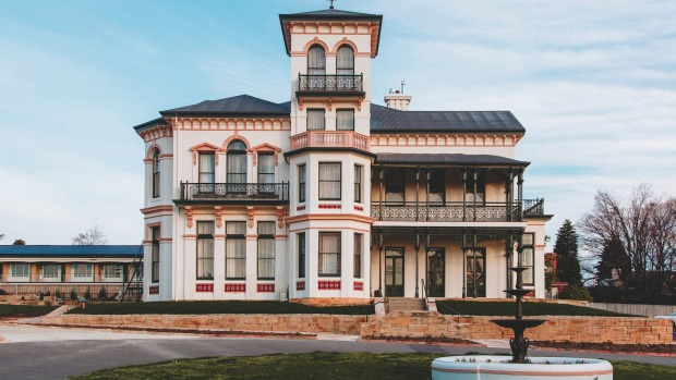 The Maylands Lodge was the result of an 18 month restoration of one of Tasmania's most historical buildings.