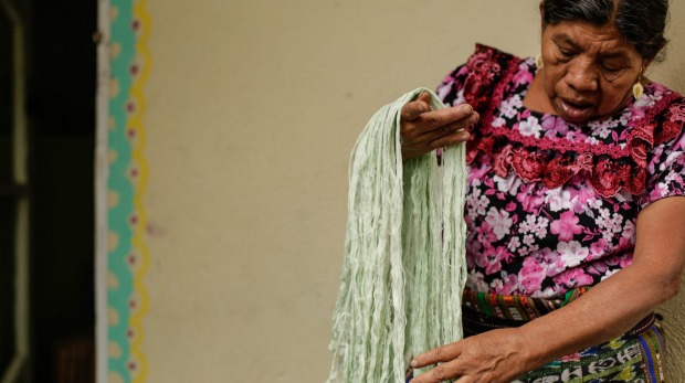 Weaving is one of Guatemala's most important cultural traditions - but it's under threat.