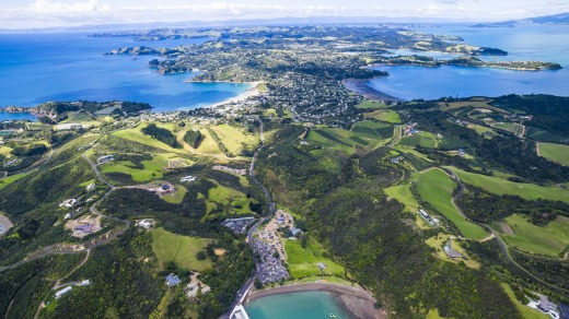 Visitors can get to Waiheke Island by ferry.