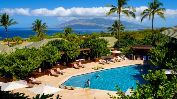 Adults-only haven: Hotel Wailea.