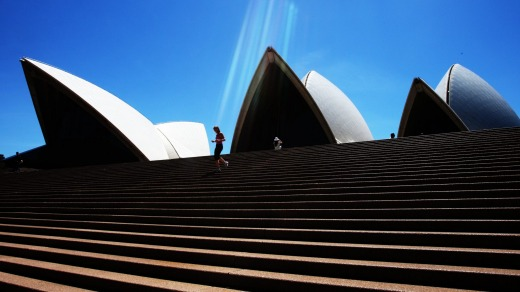 The Sydney Opera House is the most Instagrammed place in Sydney.