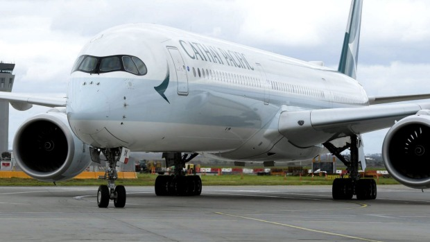 Cathay Pacific recently became the first airline to bring the A350-1000 to Australia.