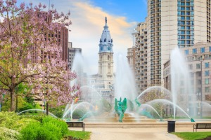 Swann Memorial Fountain.