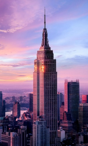The Empire State Building turns 90 in May 2020.