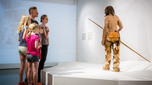 Crowds are queuing up to see the story of Otzi the Iceman.