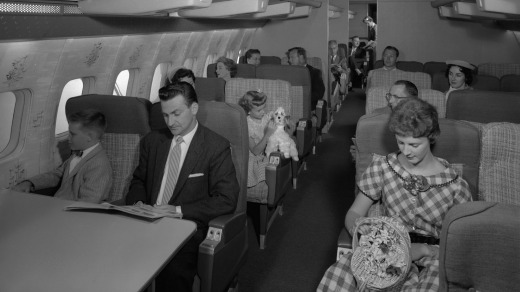 The Stratocruiser was the height of 1950s flying luxury.