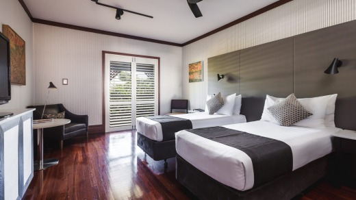 A room at Cable Beach Club Resort & Spa.
