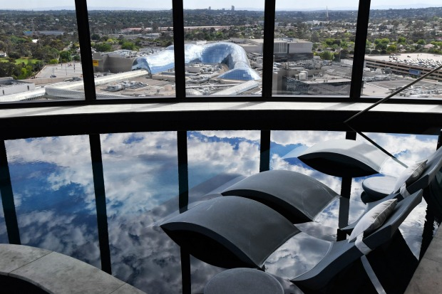 Those who book into the hotel can enjoy exclusive access to the pool, also on the 12th floor, where Balinese-style ...