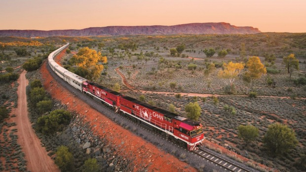 One of the greats: The Ghan.