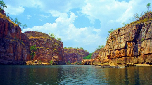 Katherine Gorge, which sits in the Nitmiluk National Park, has great ceremonial significance to the local Jawoyn people.