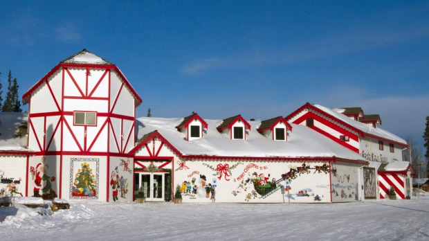 Santa Claus House North Pole Alaska The Christmas Shop That Took Over A Town