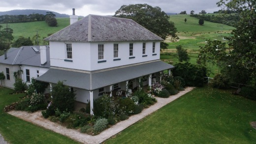 Five hectares: The property was once a dairy farm.