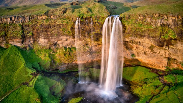 Seljalandfoss is one of the most beautiful waterfalls in Iceland.