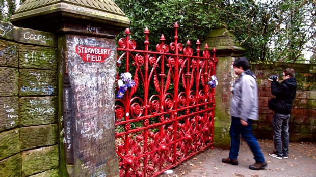 John Lennon immortalised Strawberry Field, a former children's home in Liverpool, in the hit Strawberry Fields Forever.