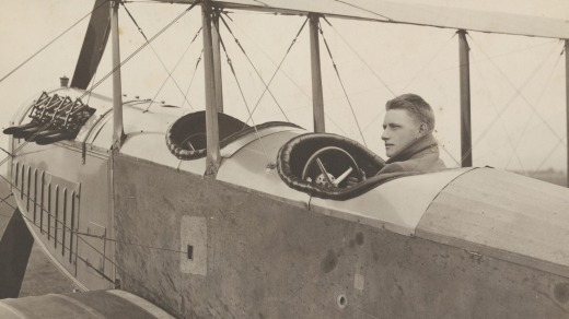 Nigel Love, founder of Sydney Airport and Australian aviation pioneer, circa 1920.