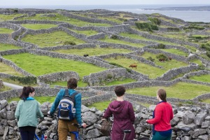 Inisheer is the smallest of the three Aran Islands in Galway Bay, Ireland.