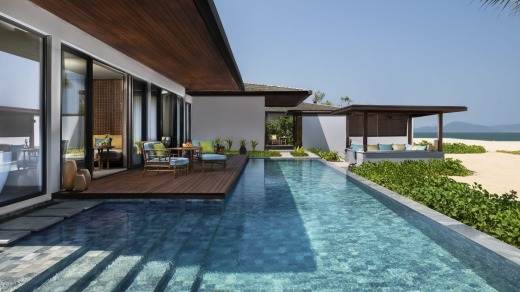 Two bedroom pool villa.