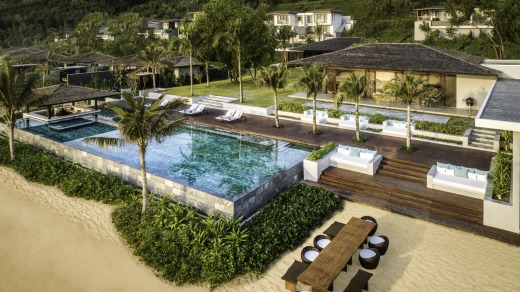 The main pool at Anantara Quy Nhon Villas.