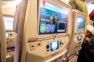 Airlines outsource the work of researching, licensing and editing programming for their entertainment systems.